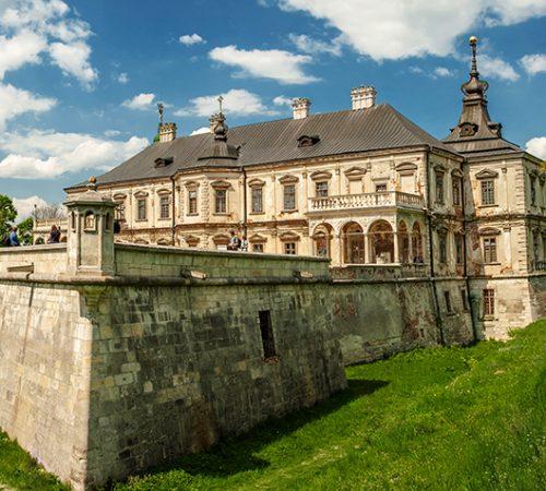 Підгорецький_замок._Панорама